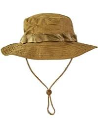 MFH GI Boonie Rip Stop Chapeau de brousse américain avec tour de tête ajustable et cordon stoppeur