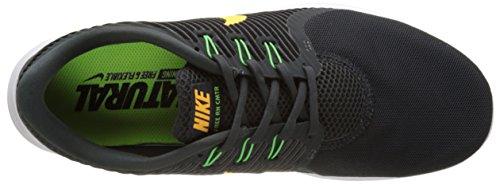 Nike Free RN Cmtr, Scarpe da Corsa Uomo, Grigio/Nero Multicolore (Anthrazit/laser Orange/rage Grün/weiß)