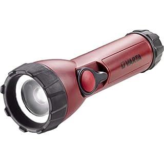 Varta CREE LED Industrial Focus Control Taschenlampe (inkl. 4x High Energy AA Batterien fokussierbare Arbeitsleuchte Flashlight Werkstattlampe Worklight Leuchte - Resistent gegen Öl, Benzin, Diesel)