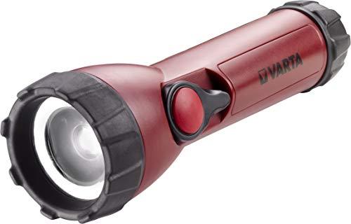 Varta CREE LED Industrial Focus Control Taschenlampe (inkl. 4x Longlife Power AA Batterien fokussierbare Arbeitsleuchte Flashlight Werkstattlampe Worklight Leuchte - Resistent gegen Öl, Benzin, Diesel)