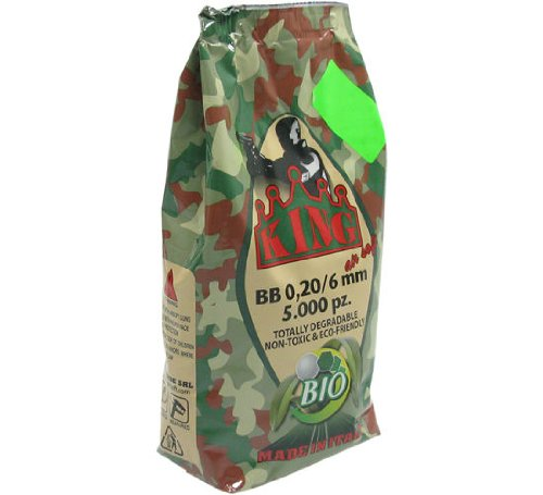 5.000 SUPER KING AIRSOFT SOFTAIR BIO BBs 6mm 0,20g olive