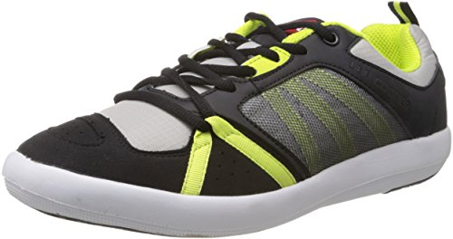 Lee Cooper Men's Black and Green Mesh Running Shoes - 7 UK  available at amazon for Rs.1039