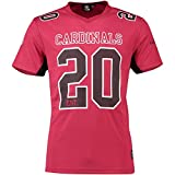 Majestic Athletic Arizona Cardinals NFL Moro Poly Mesh Jersey Tee T-Shirt Trikot