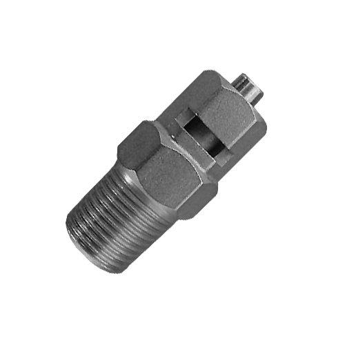 Luer-fitting (millipore Nickel/Chrom vergoldet NPT Stecker auf Stecker Luer Verriegeln, Armaturen, Adapter, Ventile, Stärken und Tubing, Male to Male Luer Locking Gauges and Tubing Fittings, 1)