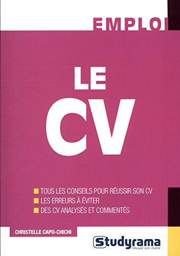 Le CV / Christelle Capo-Chichi.- Levallois-Perret , impr. 2017