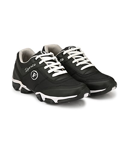 d8fba1549ce0dc 44% OFF on Fucasso Men s Synthetic Black Sports Shoes on Amazon ...