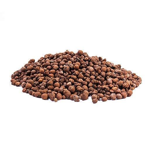 Cultivalley 50L Blähton 4-8mm • Hochwertiges Hydrokultur Ton-Granulat Rund & Grob • Perfekt für Topfpflanzen als Pflanzton & Dachbegrünungen oder als Baustoff