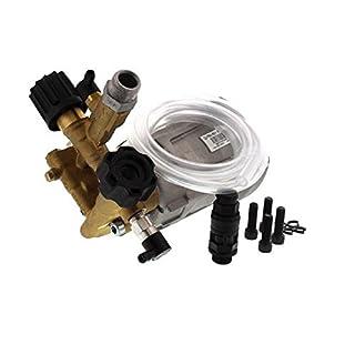 Annovi Reverberi RXV3G30 AR Pumpen-Set mit thermischem Entlastungsventil, Reinigungsmittelschlauch mit Filter, Natur