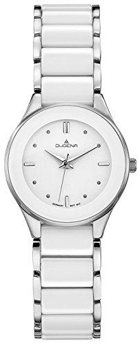 Dugena Women's Analogue Quartz Watch with Ceramic Strap 4460772