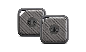 Tile Sport - Buscador de llaves, Buscador de teléfonos, Buscador de cualquier cosa, Grafito - Paquete de 2