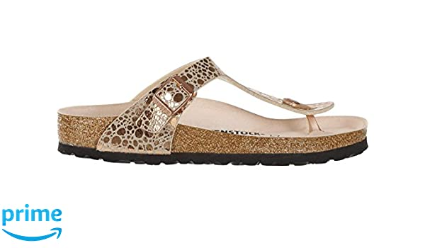 2f6dffcf82b Birkenstock Gizeh BF W thong sandals stones copper  Amazon.co.uk  Shoes    Bags
