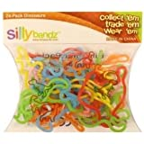 Colorful Silly Bandz Die-Molded Dinosaurs - 24 Pack - Kids Everywhere Are Going Wild (Ages 5+) Jouets, Jeux, Enfant, Peu, Nourrisson