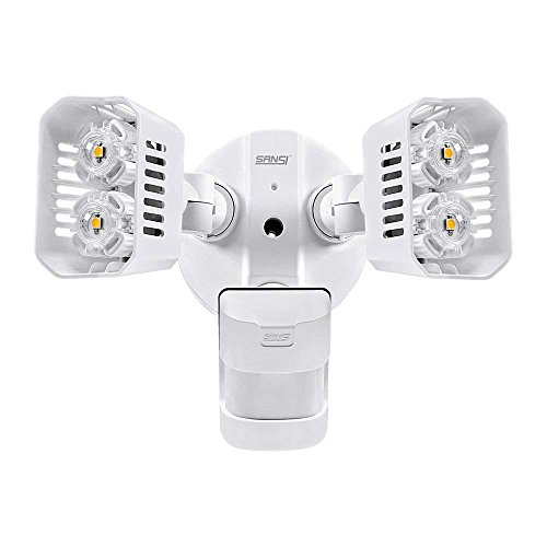 Sansi Foco LED con Sensor de Movimiento 18W 1800lm 5000K Iluminación de...