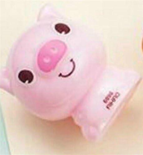 Fournitures d'écriture 1Pc Porcinet détachable en plastique à un seul trou pour enfant étudiant (rose) | Spécial Acheter