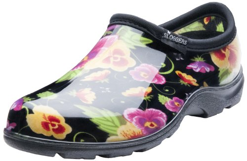 Sloggers, Zoccoli donna Nero Floral Black 10 UK