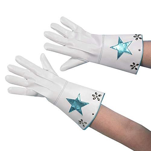 (Andrea Moden 0197/9 Handschuhe, Unisex– Erwachsene, Weiß, One Size)