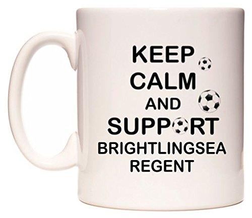 Keep Calm And Support Brightlingsea Regent Becher von WeDoMugs - Regent-becher