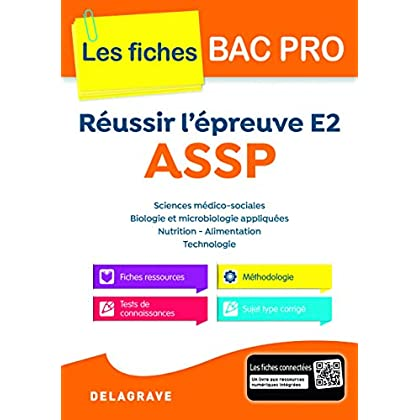 Réussir l'épreuve E2 ASSP - Collection Spécial Bac Pro