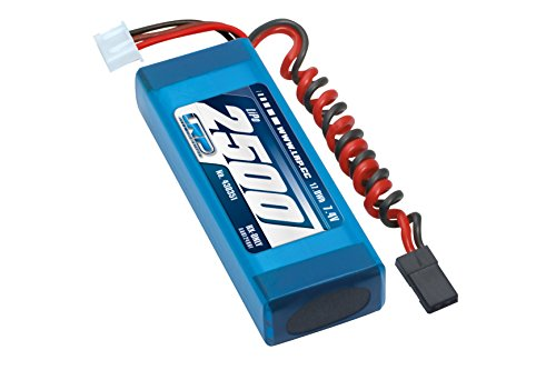 LRP Electronic 430351 - LiPo 2500 RX-Pack 2/3A Straight, RX-only, 7.4 V Rx Pack