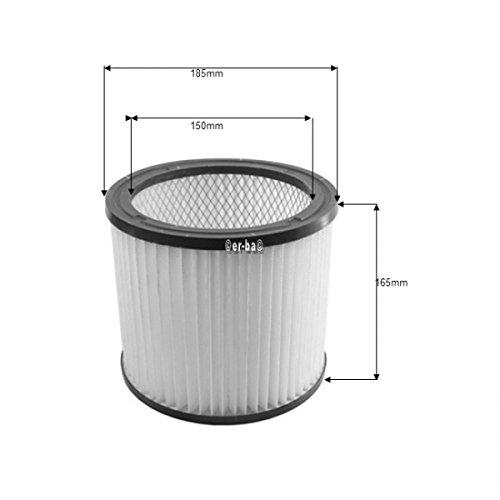Aquavac filtre cylindrique pour logements-lavable en machine