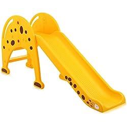 Baby Vivo Toboggan Enfant Aire de Jeux Jeu d'Extérieur et à l'Intérieur pour Enfants Jardin Girafe en Janue