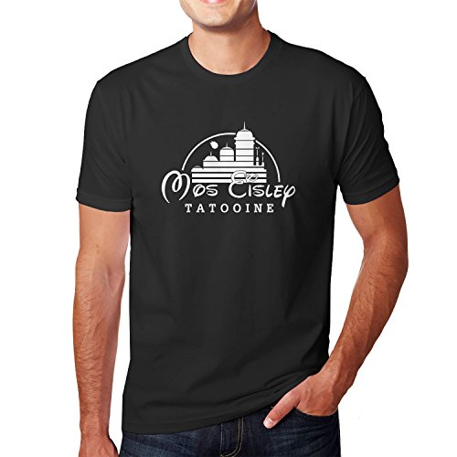 Planet Nerd Mos Eisley Tatooine - Herren T-Shirt, Größe M, schwarz