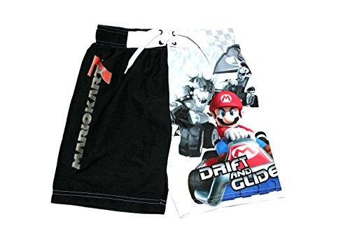 Preisvergleich Produktbild Offizielle Nintendo Mario Kart Boys Swim Shorts -Lizenzierte Produkt (Alter 7-8)