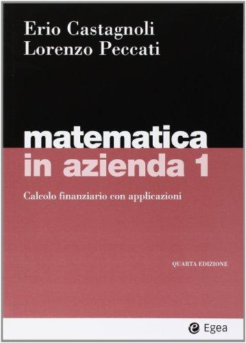 Matematica in azienda: 1