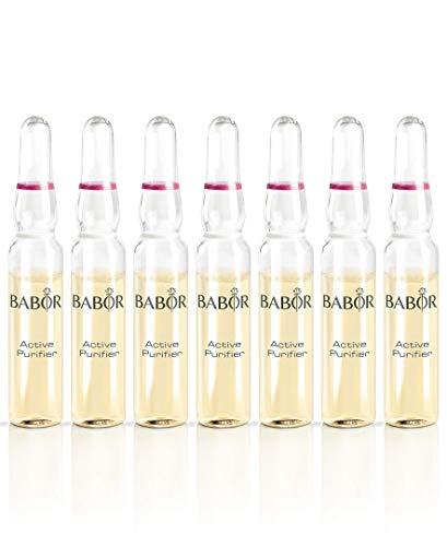BABOR AMPOULE CONCENTRATES Active Purifier, Gesichtspflege für unreine Haut, mit Teebaumöl, wirkt...