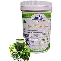 Chlorella Kapseln - BIO - 240 Stück - a 400 mg - Natürliche Eiweißquelle - Gut für eine Detoxkur preisvergleich bei billige-tabletten.eu