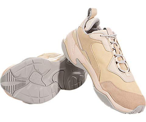 PUMA Women s Thunder Desert Sneakers  Natural Vachetta Cream Tan  8 5 M US