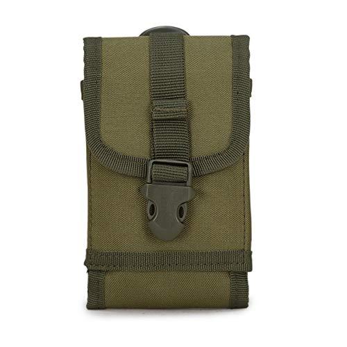 MINGYUECHAO Klassische Sporttaschen Außengürtel Militär Sporttasche Fall Für Caterpillar Cat S61 S60 / Cat S40 / Cat S30 S41 S31 Für Agm A8 S30 Ulefone Rüstung 2,1 -