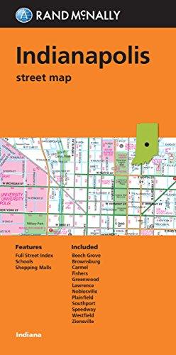 Rand McNally Indianapolis, Indiana Street Map