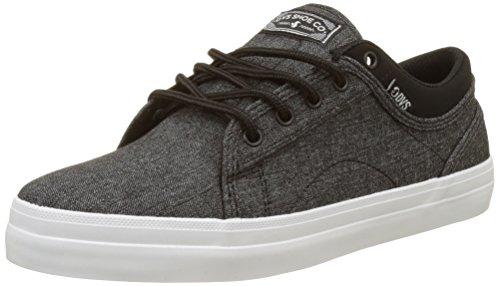 DVS Aversa, Chaussures de Skateboard homme Noir (Black Chambray)