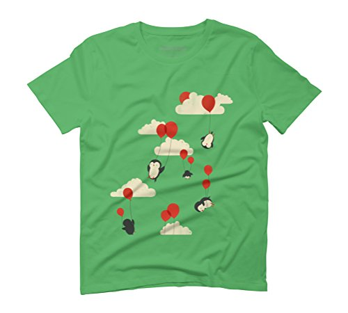We Can Fly Men's Graphic T-Shirt - Design By Humans Green