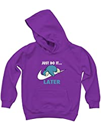 de6a6e83 Prism Clothing Co. Kids Just Do It. Later Snorlax Hoodie S - 2XL -