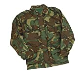 Childrens Padded Camouflage Combat Jacket - British DPM