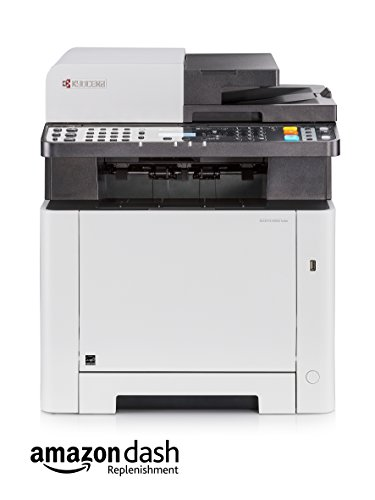 Kyocera Ecosys M5521cdw Farblaser Multifunktionsdrucker: Drucker, Kopierer, Scanner, Faxgerät. Inkl. Mobile-Print-Funktion