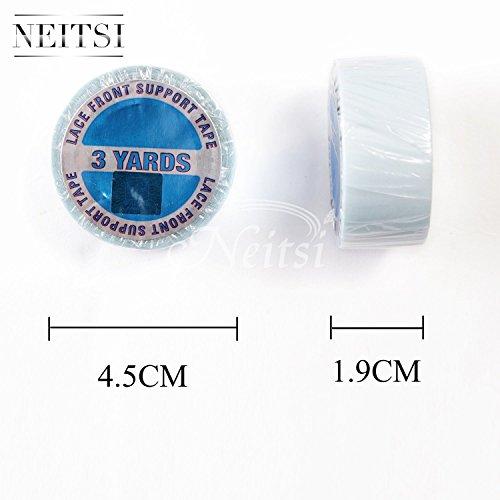 Neitsi®, nastro biadesivo extra strong blu, rotolo da 2,7 m per extension adesive