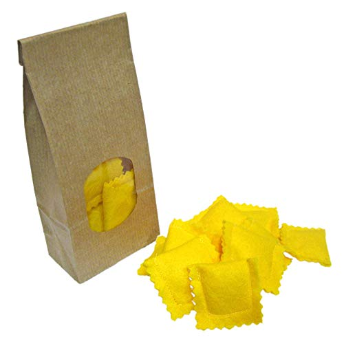 Felt Play Food Pasta Ravioli, Miniature Food, Role Play Grocery Shop accessoires, Pretend Play Kitchen