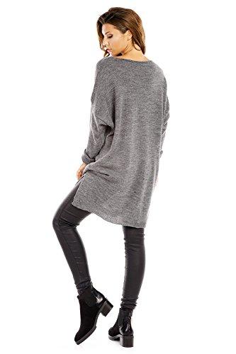 Fashion - Pull - Femme gris foncé