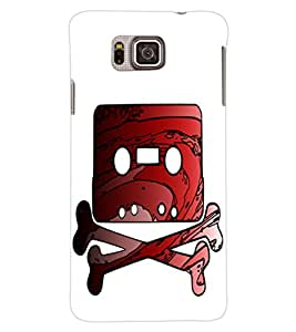 ColourCraft Funny Image Design Back Case Cover for SAMSUNG GALAXY ALPHA G850