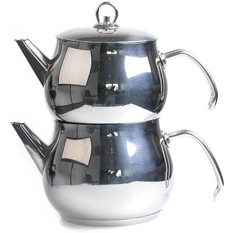 Tea Makers Caydanlik turca con Cagla Teiera