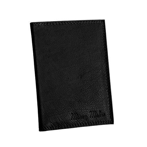 Money Maker - Funda de pasaporte unisex, negro (Negro) - 0