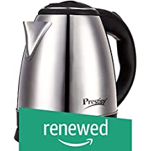 (Renewed) Prestige Electric Kettle PKOSS - 1500watts, Steel (1.5Ltr)
