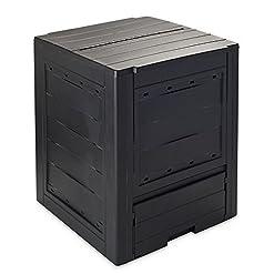 Toomax Z651T041 Contenitore Composter, Ambition Line, 60X60X73, Nero