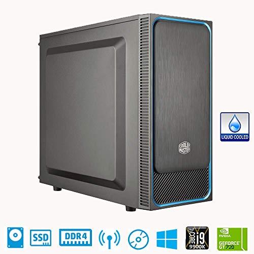 CeO Theta V9 PC Desktop Intel I9 9900K 8 Core 16MB Cache 5.00 GHz 16GB RAM 500GB SSD 1TB HDD USB 3.0 Nvidia GT720 2GB HDMI/VGA POTENZA 750W Raff.