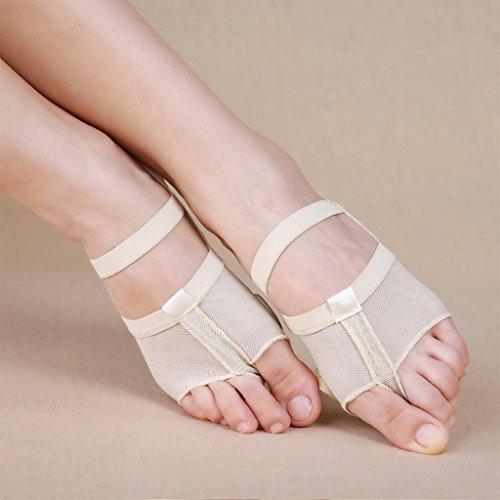 Wgwioo Ballett Fuß Soles / Bauchtanz Fitness Praxis Schuhe Zu Reduzieren Fuß Schmerzen Lindern Fußschmerzen Schuhe Bauchtanz-Praxis-Fuß-Sets Einlegesohlen Neutral 2Er-Pack color