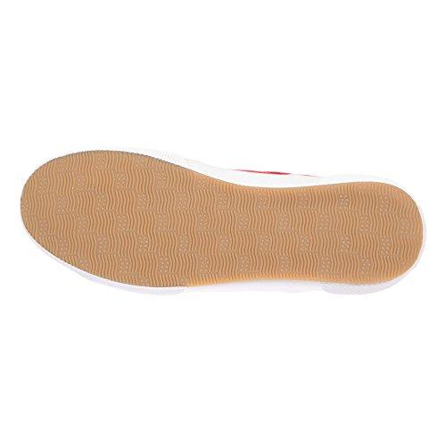 U.S. POLO Sneaker Damenschuhe mit Schnürsenkeln - mod. SOLAD4188S7-C1 Rot