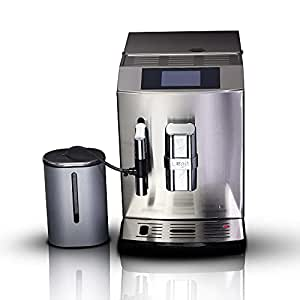 Buy LEGIT Fully Automatic Bean to Cup Coffee Machine - Adjustable Coffee  Grinder, Milk Frother, Double Boiler, Beans & Ground Coffee Powder Dual  Usage Milk for Brewing Espresso, Cappuccino, Latte   Stainless
